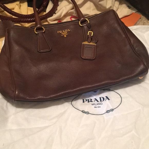 17176e32e82a94 Prada Bags | Deerskin Tote Wauthenticity Certificate | Poshmark